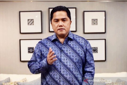Erick Thohir angkat perempuan menjadi direktur di PT Pos Indonesia