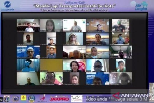 Elektrifikasi transportasi percepat Jakarta bebas emisi