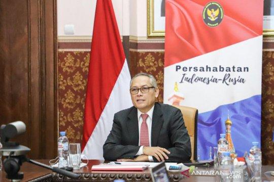 Indonesia, Rusia dorong kerja sama ekonomi digital