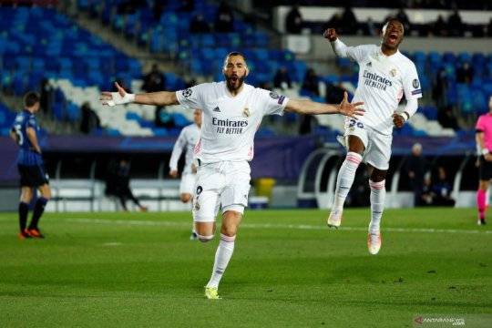 Liga Champions: Madrid melaju ke perempat final