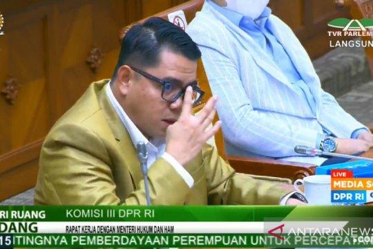 Anggota DPR ingatkan Wamenkumham agar sejalan dengan Menkumham