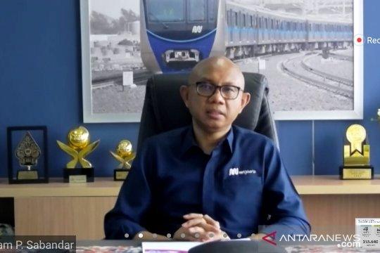 Penumpang MRT Maret 2021 capai 20.728 orang per hari