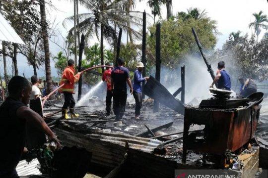 Ceroboh bakar sampah picu kebakaran rumah di Pidie