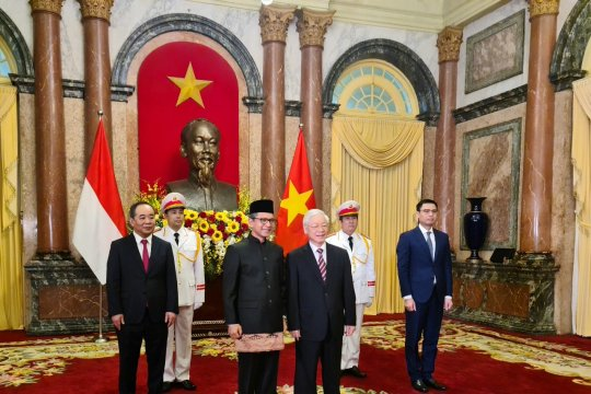 Dubes RI serahkan surat kepercayaan kepada Presiden Vietnam