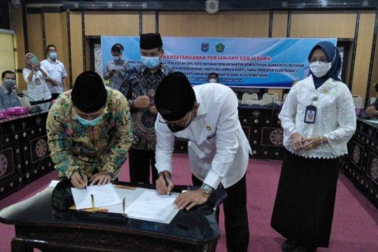 Kemenag-Pemkot Mataram kerja sama penerbitan kartu nikah, KTP dan KK