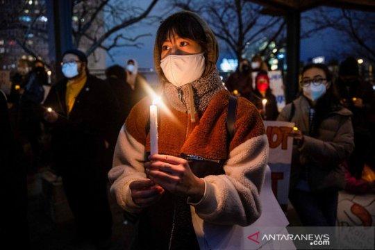Aksi solidaritas menentang anti-Asia
