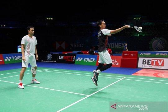 Timnas Indonesia dipaksa menyerah saat tampil gagah di All England