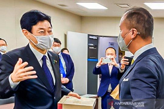 Bertemu Menteri Nishimura, Menperin sebut pertemuan dua kawan lama