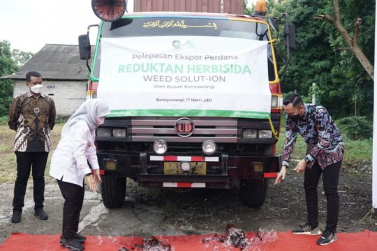 Bupati Banyuwangi lepas ekspor perdana reduktan herbisida ke Malaysia