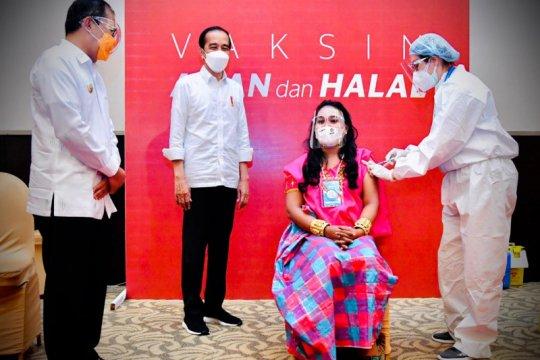 Presiden apresiasi Festival Vaksinasi COVID-19 Pemkot Makassar