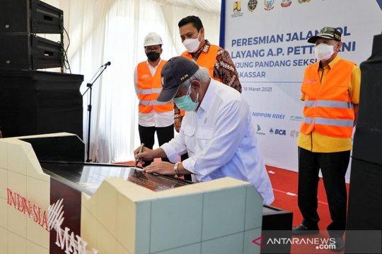 Menteri PUPR resmikan Tol Layang Pettarani