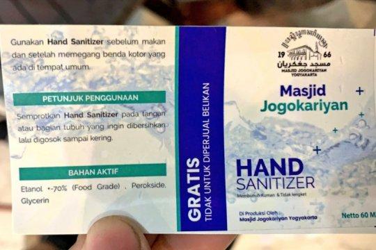 Masjid Jogokariyan Yogyakarta fasilitasi tes antigen cegah penularan