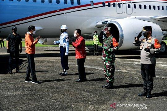 Presiden bersyukur akhirnya Bandara Toraja rampung dan diresmikan