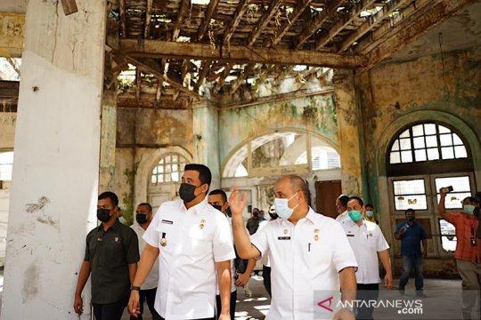 Pemkot Medan benahi bangunan warisan sejarah di Kesawan