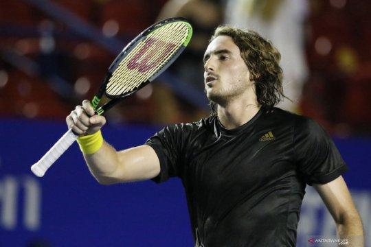 Tenis Mexican Open: Tsitsipas kalahkan John Isner straight set