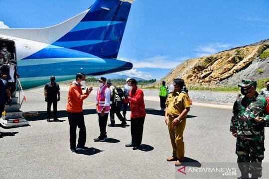 Presiden Jokowi berharap keberadaan Bandara Toraja permudah wisatawan
