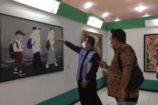 Taman Budaya Kalbar pamerkan 52 karya seni lukis seniman lokal
