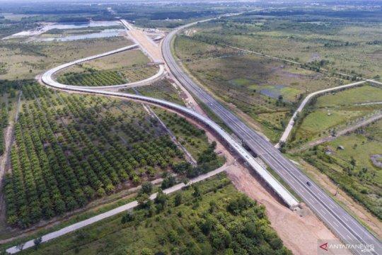Progres pembangunan tol Palembang - Prabumulih