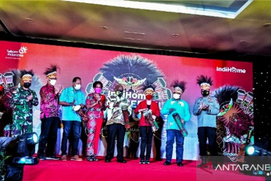 Perluas jangkauan internet, Telkom gelar Indihome Wonderful Papua