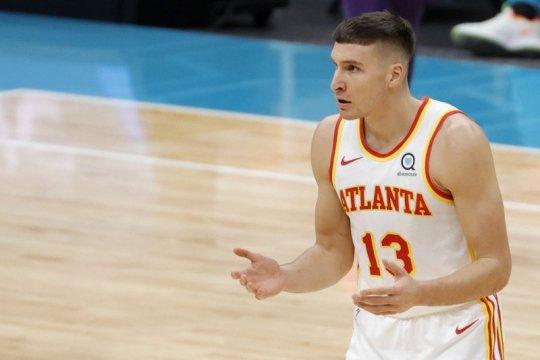 Bogdon Bogdanovic bantu Hawks taklukkan Hornets