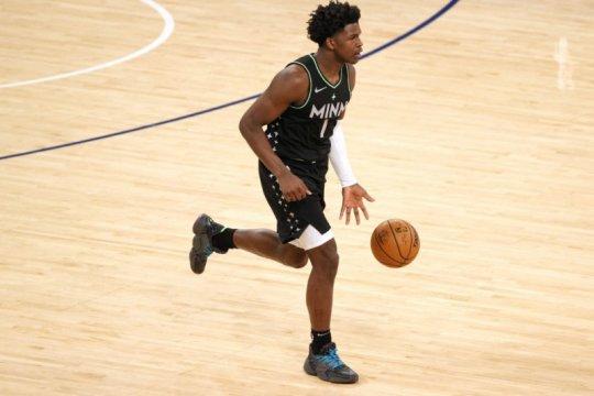 Anthony Edwards cetak rekor dalam sejarah rookie NBA