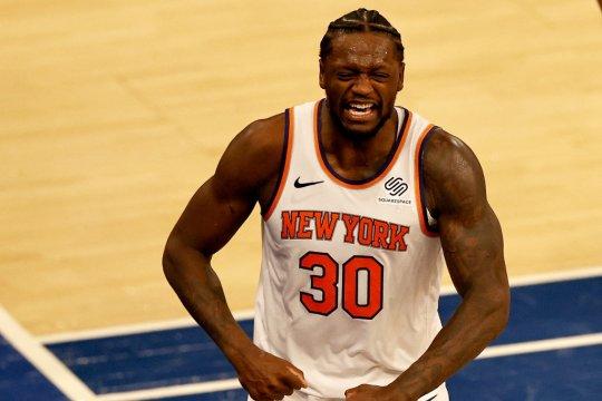 Triple-double ketiga Randle bawa Knicks hantam Magic
