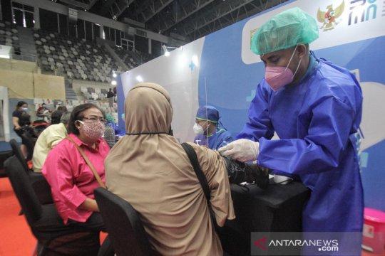 Sentra Vaksinasi Bersama BUMN terapkan prokes ketat