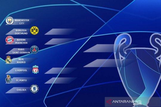Hasil undian perempat final Liga Champions: PSG kembali lawan Muenchen