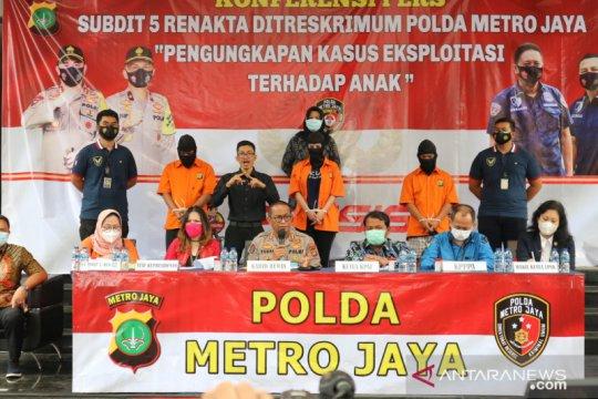 Polda Metro amankan 15 PSK di bawah umur dari Hotel Alona