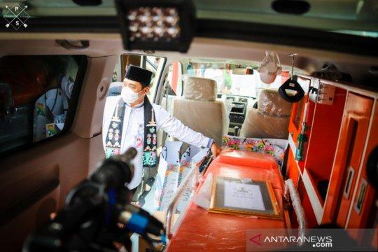 Wagub DKI serahkan bantuan ambulans dari Baznas