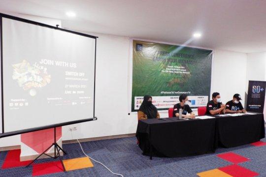 Komunitas Earth Hour ajak warga Makassar hemat energi listrik