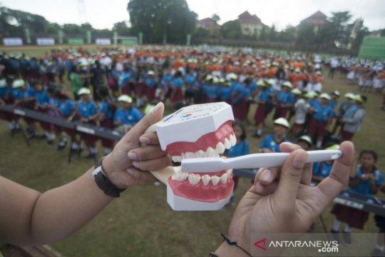 Kebiasaan gosok gigi masyarakat menurun selama pandemi