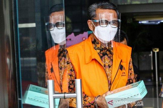 KPK menggeledah kantor tersangka penyuap Nurdin Abdullah