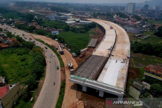 Progres pembangunan Tol Cisumdawu