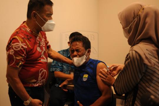 Tim Persib jalani vaksinasi pertama COVID-19