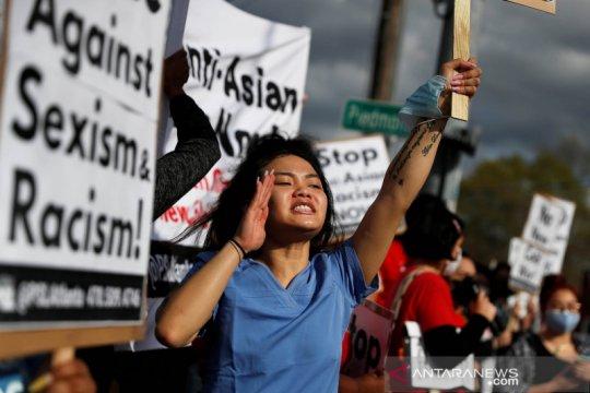Kebencian anti-Asia  di AS, orang tua pertimbangkan bicarakan rasisme