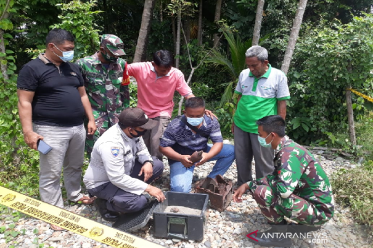 Warga Aceh Besar temukan benda diduga mortir aktif