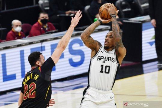 NBA: Spurs kalahkan Cavaliers 116 - 110