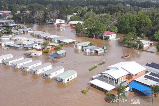 Banjir parah merendam kawasan New South Wales Australia