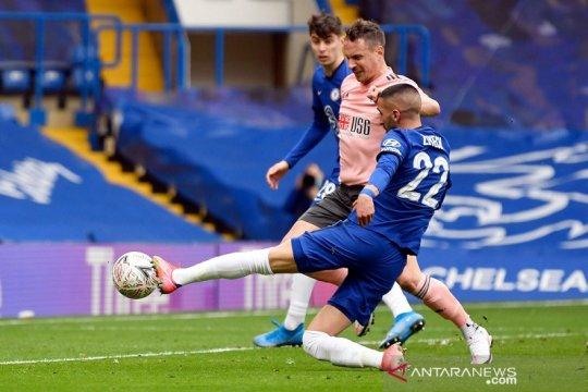 Chelsea singkirkan Sheffield United demi menuju semifinal Piala FA