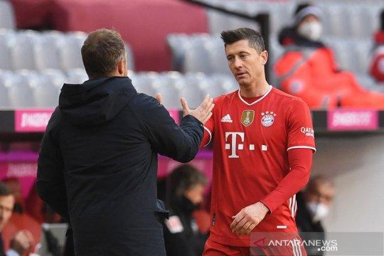 Lewandowski anggap kartu merah Davies jadi titik balik Bayern