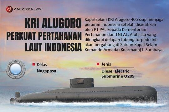 KRI Alugoro perkuat pertahanan laut Indonesia