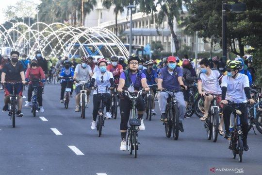 Bersepeda di luar jalur khusus terancam sanksi 15 hari kurungan