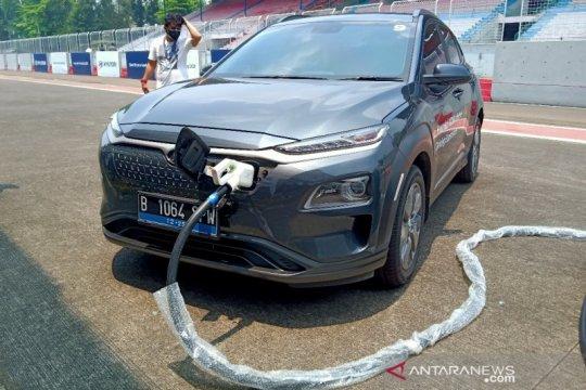 """Hyundai hadirkan """"mobile charging"""", layanan isi daya mobil listrik"""