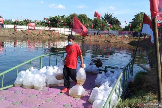 PDIP batal tebar benih ikan di Waduk Rawa Lindung akibat air tercemar