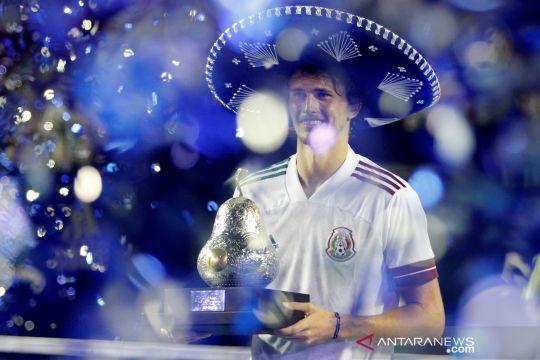 Alexander Zverev juara Meksiko Terbuka 2021