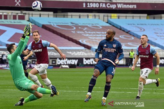 Liga Inggris: West Ham United vs Arsenal