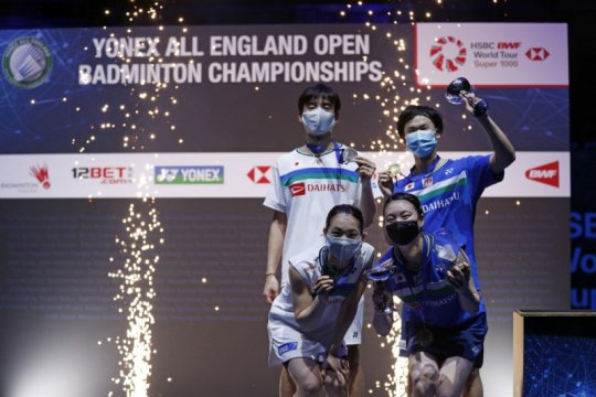 Jepang raih empat gelar juara All England 2021