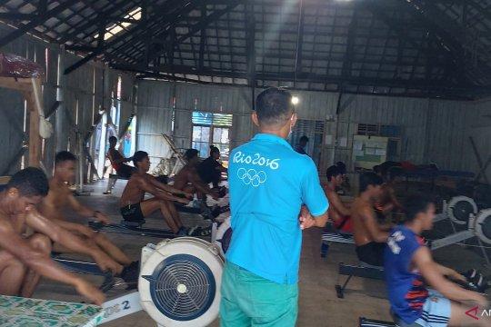 Peserta seleksi atlet dayung PON XX Sultra meningkat jadi 105 orang