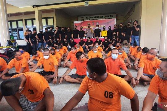 Polresta Jambi tangkap tahanan BNN yang kabur jebol sel